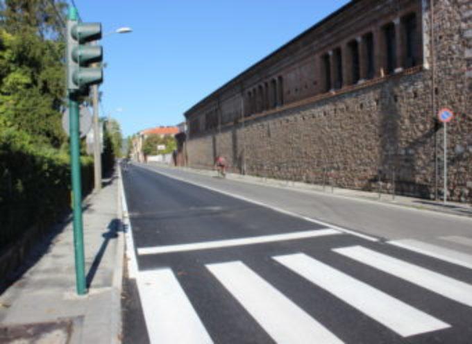 La via  Provinciale Vallecchia a misura di pedone