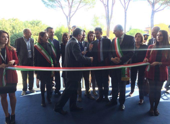 Inaugurazione Miac- intervento del sindaco di Lucca Alessandro Tambellini
