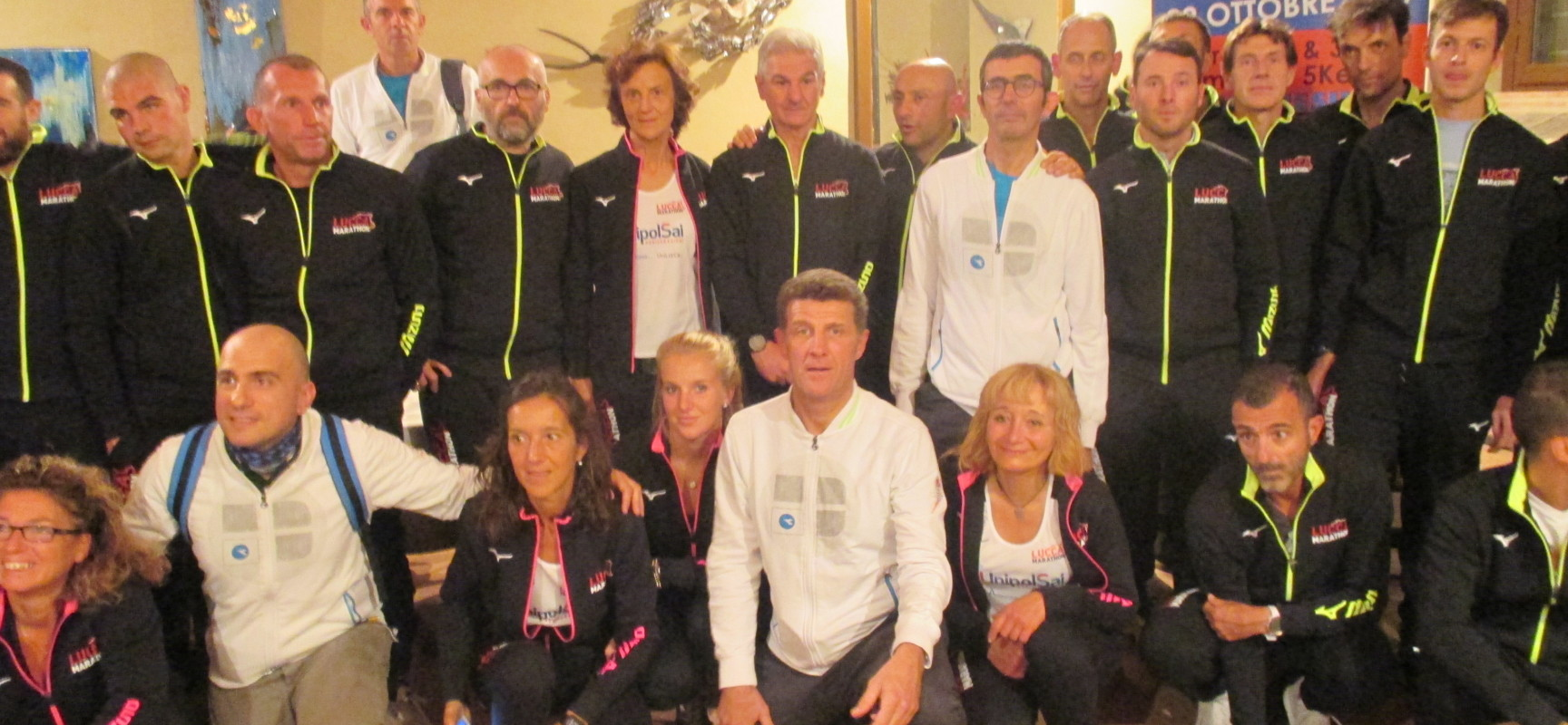 Lucca Marathon presenta la squadra e l'organizzazione in vista della Maratona di Lucca