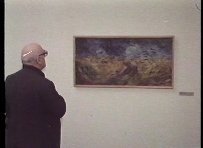 visita guidata della mostra su Mario Nigro e Zavattini e Van Gogh (secondo appuntamento del ciclo di proiezioni su arte e televisione)