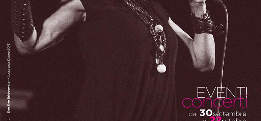 Eleganza, ironia, raffinatezza e originalità sabato 14 ottobre a Lucca Jazz Donna
