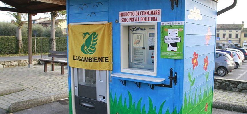 ANCORA UN RAID – Ladri forzano il distributore del latte a Lammari
