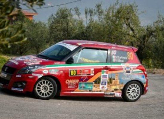 il pilota della valle Stefano Martinelli Campione d'Italia Rally R1