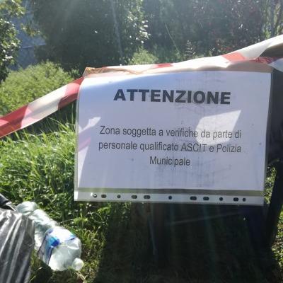 GIA' ELEVATE SEI SANZIONI DA 300 EURO CIASCUNA GRAZIE AL NUOVO SERVIZIO 'ACCHIAPPARIFIUTI'