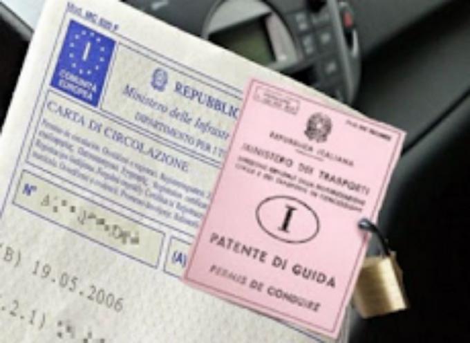 Occhio : Dal 3 novembre Patente e Libretto con lo stesso Nome: Si rischia un Verbale da 750 euro.