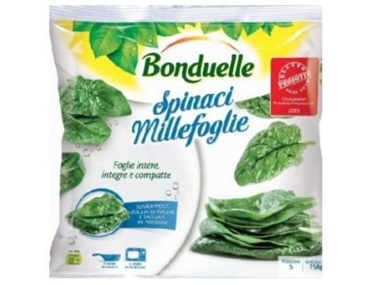 Anche Auchan, Esselunga e Simply richiamano 4 lotti spinaci Bonduelle per presenza di mandragora (erba infestante velenosa).