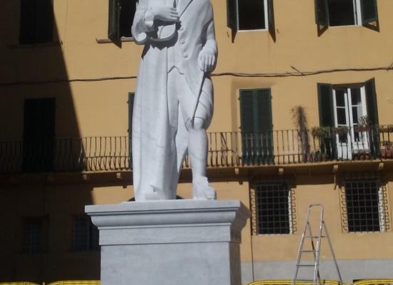 Mercoledì 18 ottobre in piazza Guidiccioni si inaugura la nuova statua dedicata a Francesco Xaverio Geminiani