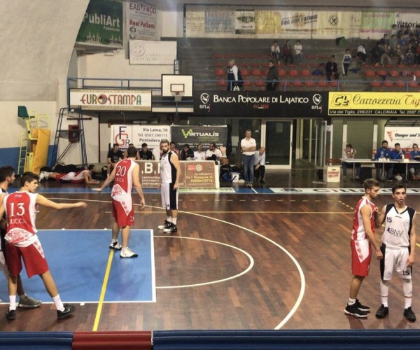 Juve Pontedera – Geonova Cmb Lucca 56-81