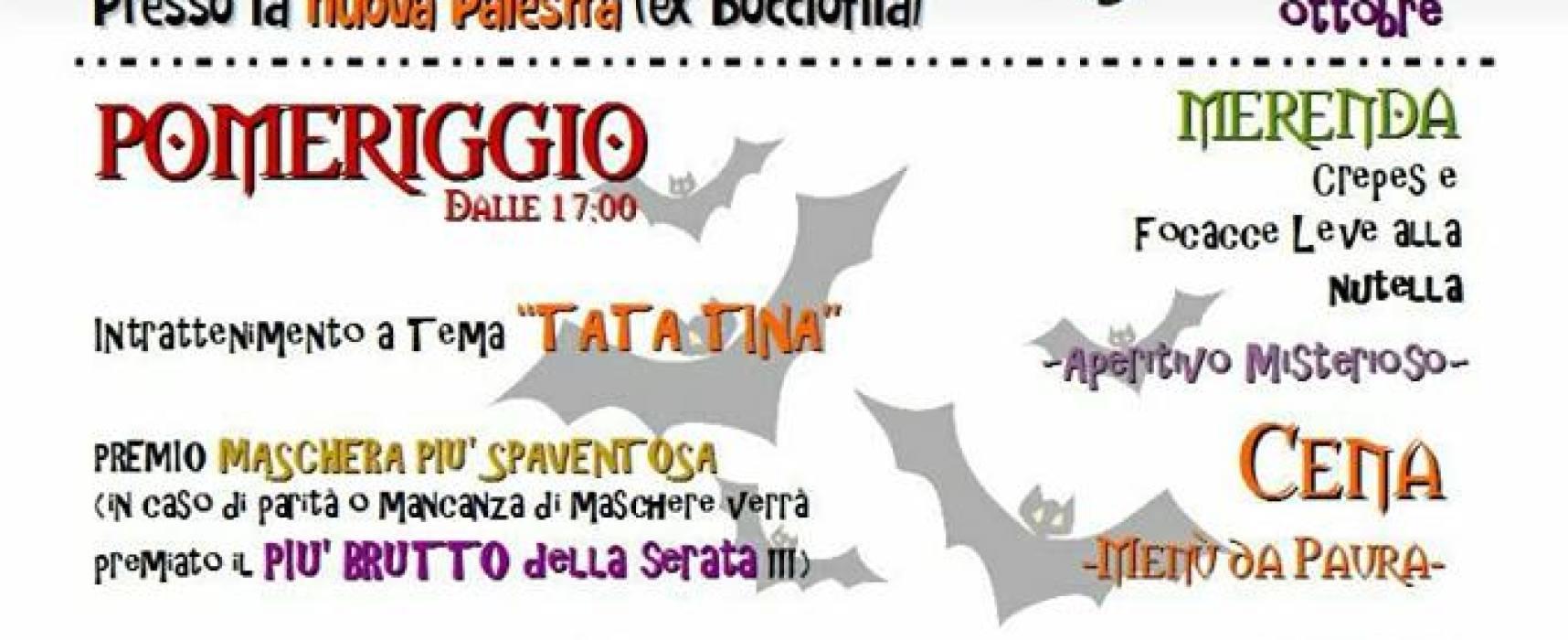 """Gallicano Halloween Party"". per martedi 31 ottobre"