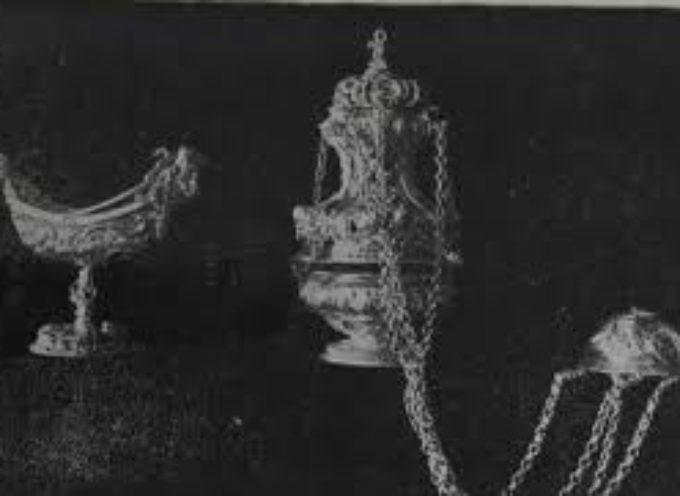 DOMANI (MARTEDì) AL MUSEO ATHENA UN INCONTRO SULL'OREFICERIA SACRA