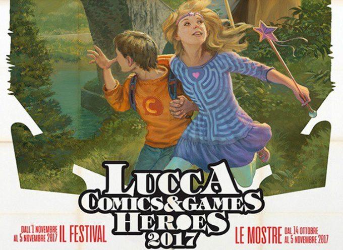 Lucca Comics & Games 2017 –  Inaugurano le mostre di Palazzo Ducale e i padiglioni invadono le piazze della città