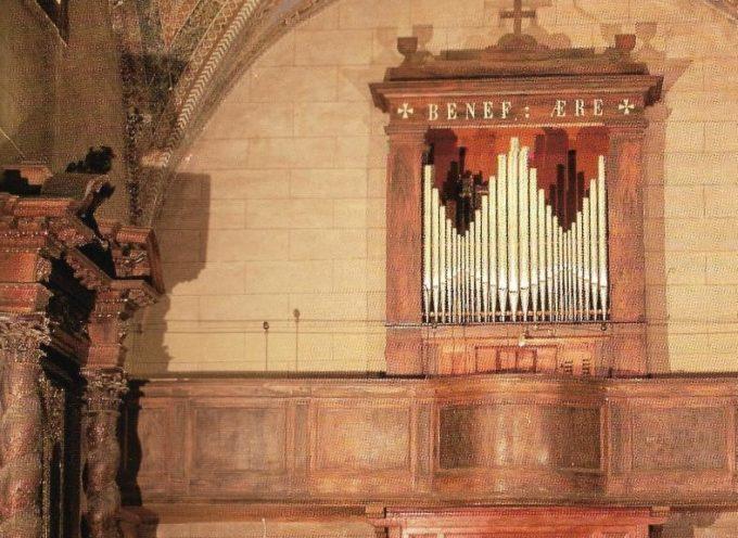 BORGO A MOZZANO – Domenica 15 ottobre torna a suonare il restaurato organo della chiesa di San Francesco