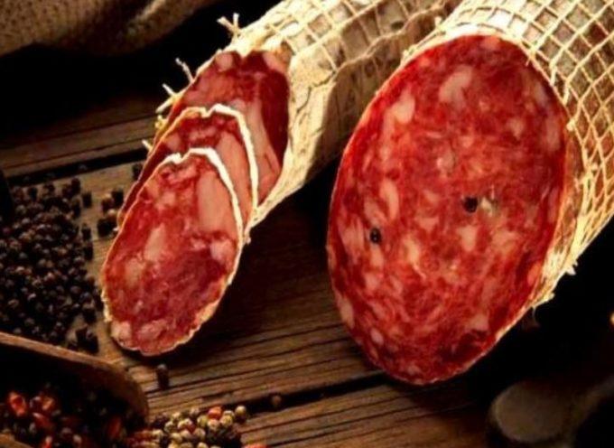 Salmonella nel salame piccante: il ministero richiama l'insaccato del Salumificio Del Nera srl