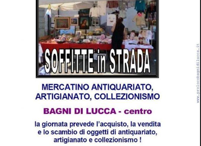 SOFFITTE IN STRADA  A  Bagni di Lucca IL 29 OTTOBRE
