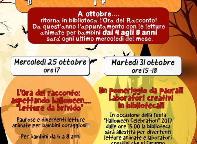SPECIALE HALLOWEEN alla Biblioteca di Borgo a Mozzano