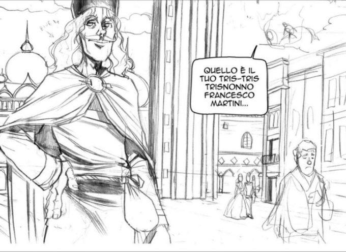 A LUCCA COMICS un fumetto ideato a Fornaci di Barga