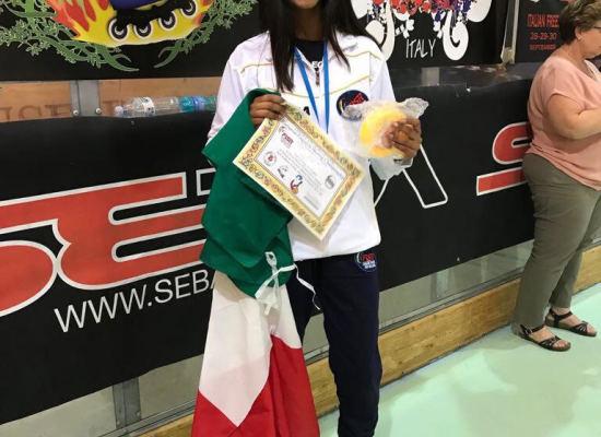 È Gomathi Berti la vice campionessa europea di speed.