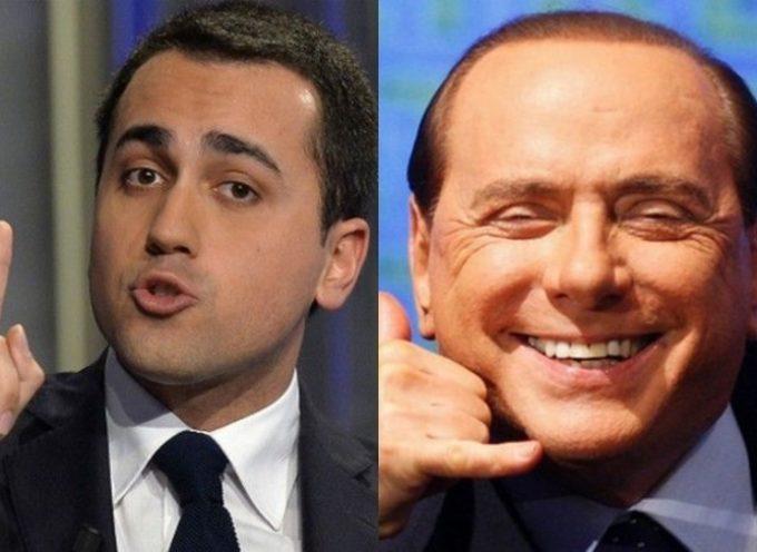 SONDAGGI: il futuro dell'Italia in mano a BERLUSCONI O A DI MAIO