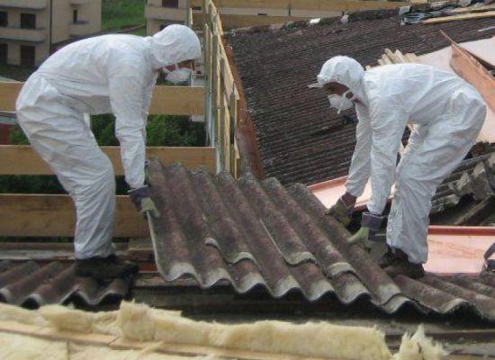 PORCARI – Rimosso l'amianto dal tetto dello stabilimento