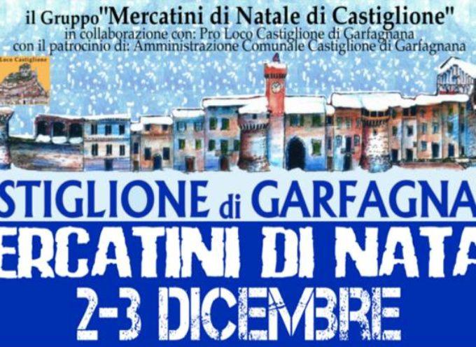Mercatini di Natale a Castiglione di Garfagnana, sabato 2 e domenica 3 dicembre.