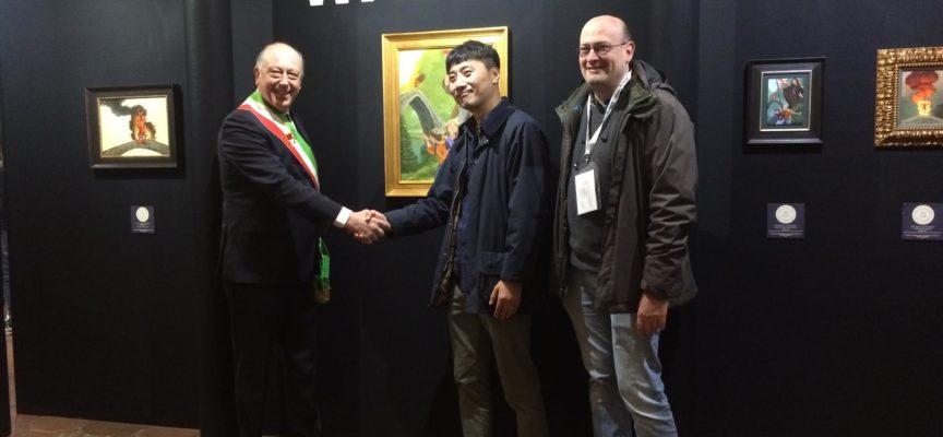 TAMBELLINI – Che soddisfazione accogliere la delegazione di  coreani, giapponesi e italiani che fanno parte del programma Comiks.