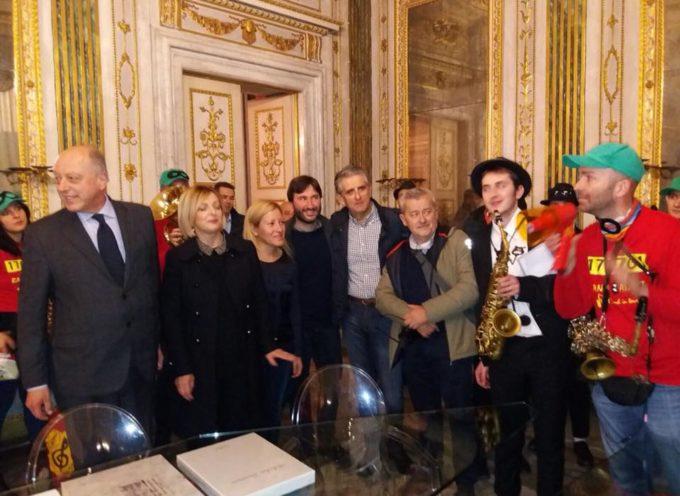 PALAZZO ORSETTI RICEVE LA BANDA  MUSICALE GIACOMO PUCCINI