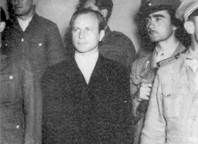 ACCADDE OGGI –  Il 13 novembre del 1976 il tribunale militare di Roma concesse la libertà vigilata a Herbert Kappler,