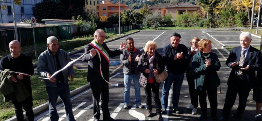 A Ponte a Moriano c'è un nuovo parcheggio,