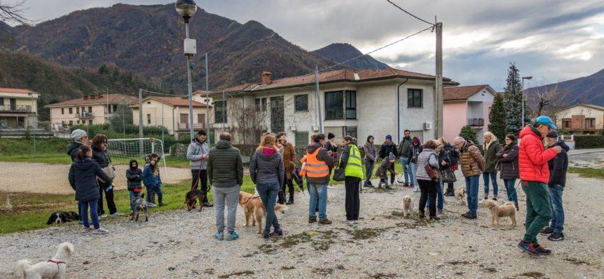 CAMMINATA A 6 ZAMPE  a  Borgo a Mozzano – si è svolta,  Domenica 26 novembre