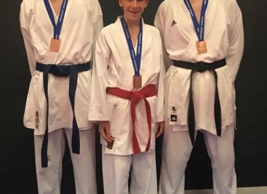 Tre bronzi per il Dojo Karate Lucca nella prestigiosa Venice Cup con  Da Prato, Trento e  Paoletti