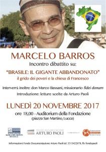 Marcelo Barros locandina