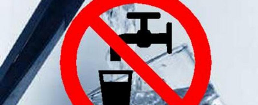 Divieto di utilizzo acqua per usi potabili nelle frazioni di Lucignana, Vitiana e Tereglio