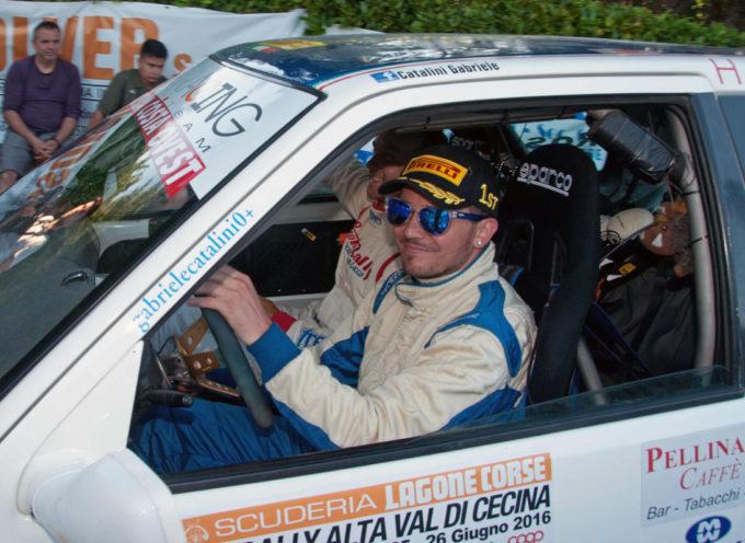 IL PREMIO RALLY AUTOMOBILE CLUB LUCCA CONCEDE IL BIS A GABRIELE CATALINI