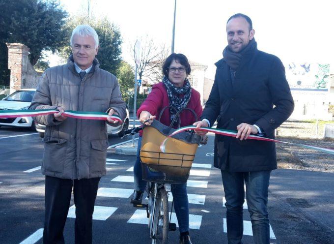 Una nuova pista ciclopedonale in via di Tiglio e via Carlo Piaggia