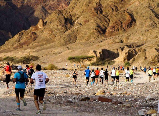 Licio Torre, portacolori del G.S. Orecchiella,  brilla alla Desert Marathon in Israele
