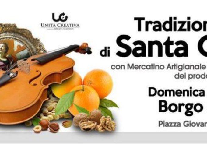 FIERA di Santa Cecilia A  Borgo a Mozzano DOMENICA 26 NOVEMBRE
