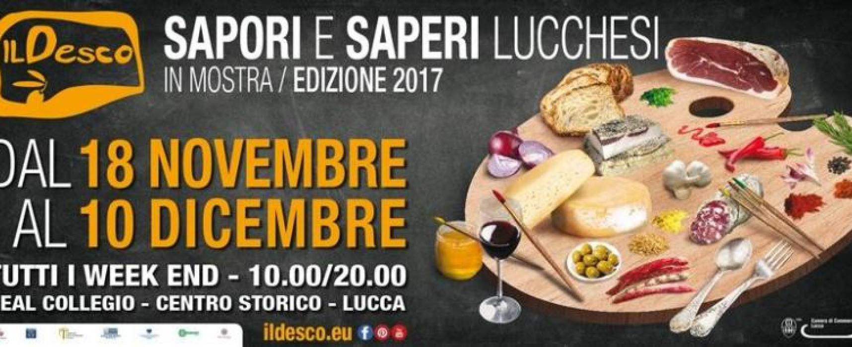 IL DESCO –  Sapori e Saperi Lucchesi in mostra edizione 2017