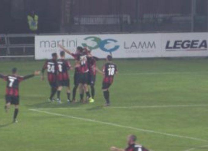 Lucchese  batte l'Alessandria per 2-1 con Fanucchi e Marini