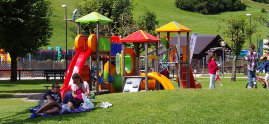 un nuovo PROGETTO per un parco giochi a Bagni di Lucca