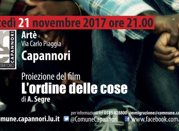 AD ARTE' LA PROIEZIONE DEL FILM 'L'ORDINE DELLE COSE'