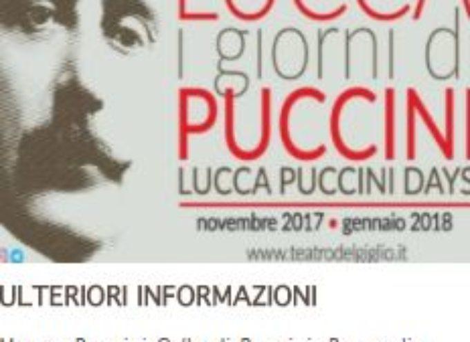 PUCCINI DAYS  A  Celle di Puccini, Pescaglia