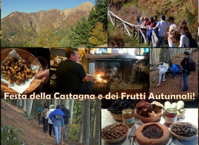 FESTA DELLA CASTAGNA e dei frutti autunnali al Rifugio Casentini  A  Bagni di Lucca