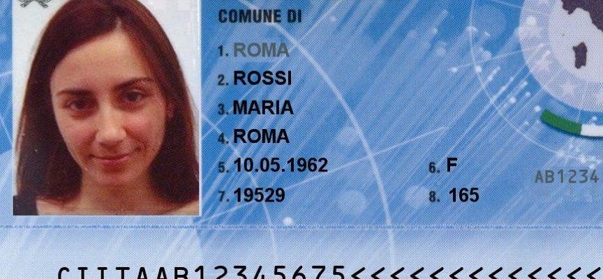 Barga  si rilascia la nuova Carta di Identità Elettronica (CIE)