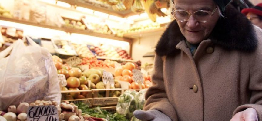 Italia Paese piu' povero d'Europa: 11 milioni di cittadini in stato di DEPRIVAZIONE