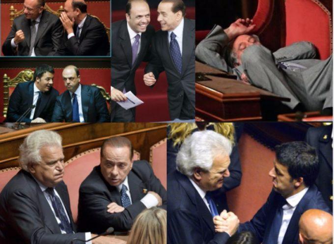 Chiude il Parlamento dal record di VOLTAGABBANA e deputati MAI VISTI