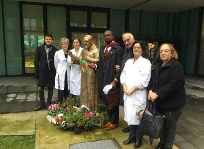 Centro Trasfusionale di Lucca: visita istituzionale del presidente nazionale dei Donatori di Sangue del Camerun Francese