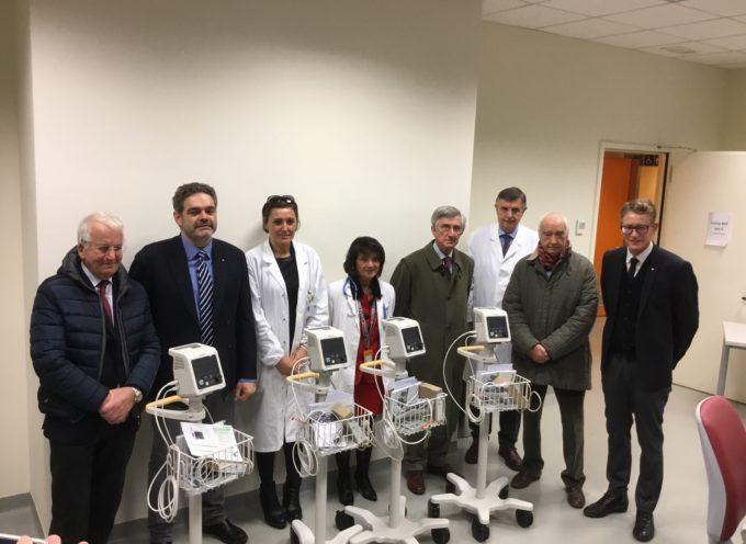 Il Rotary Club di Lucca dona sei importanti strumenti ai Pronto Soccorso di Lucca e Castelnuovo Garfagnana