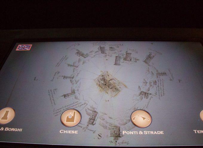 Apre la seconda sala del Museo multimediale delle rocche e fortificazioni dellaValle del Serchio