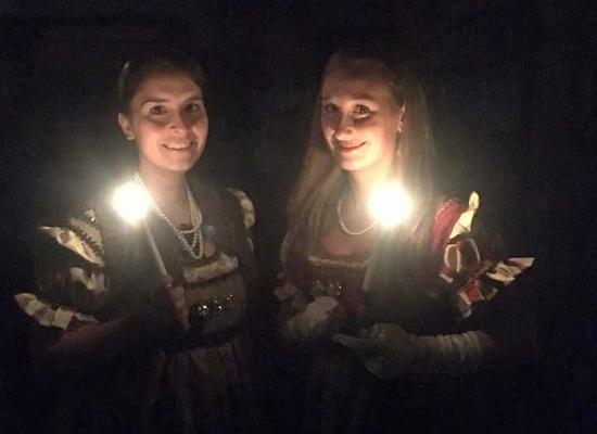 Visita a lume di candela a Palazzo Mediceo