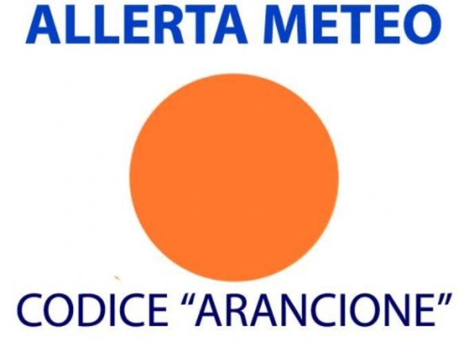 ALLERTA METEO CODICE ARANCIO per domani 10 DICEMBRE